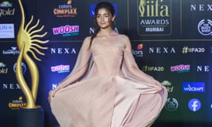 Alia Bhatt, the best actress winner, poses at the awards