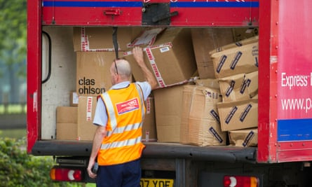 Even Parcelforce, a well-established company staffed largely by a core group of employees, has a share of its workforce in self-employment.