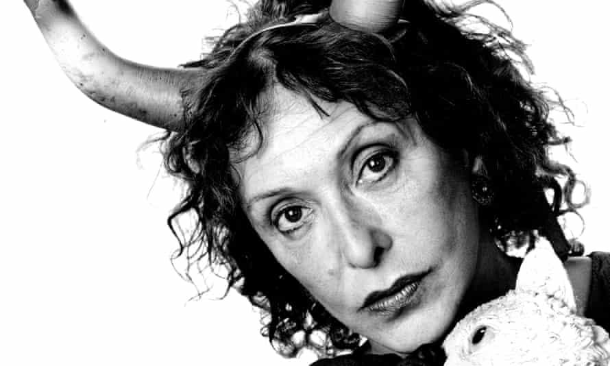 Carolee Schneemann in 1995.