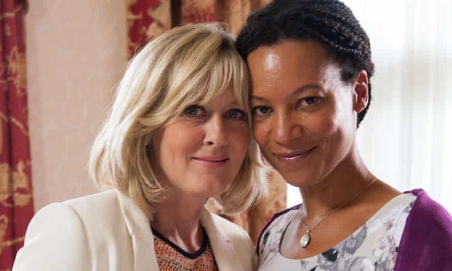 'It was upsetting' … Sosanya with Sarah Lancashire in Last Tango in Halifax, which she was written out of