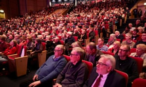 The audience at the Guardian's Labour leadership hustings.