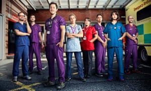 The stars of 24 Hours in A&E