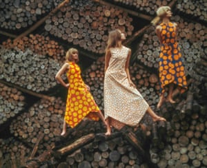 A Marimekko fashion image from 1963