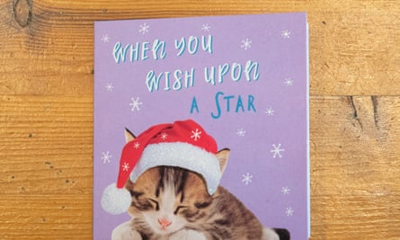 Tesco Christmas card