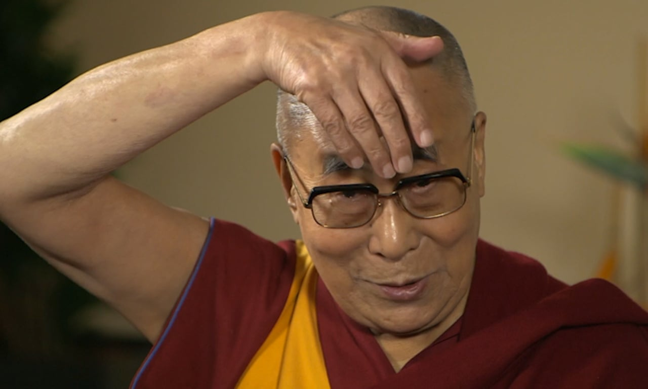 Dalai Lama Does Impression Of Donald Trump Video World News The Guardian