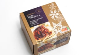 Sainsbury's Taste the Difference 18 Month Matured Pudding.