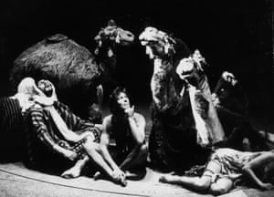 Joseph at the Albery theatre, London, during its first West End run in 1973