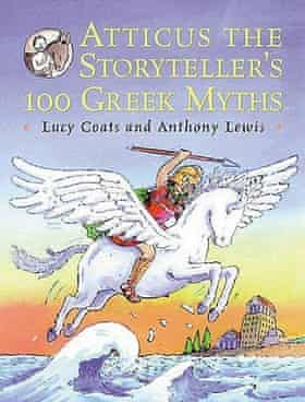 cover of atticus the storyteller's 100 Greek myths