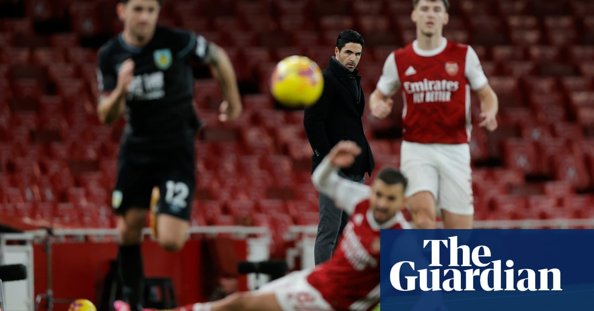Mikel Arteta treads uncertain path at Arsenal after year of ups and downs   Nick Ames