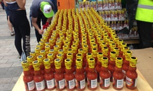 Hot red sauce