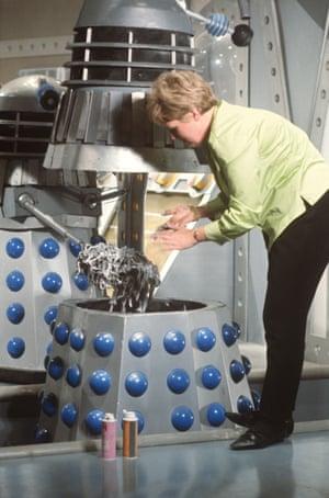 Goo is applied to a Dalek