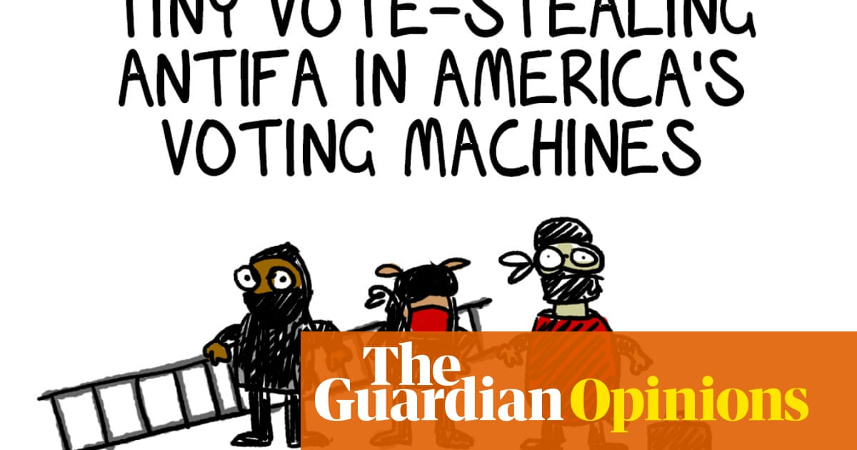 Along with everything else Trump has killed satire as well | First Dog on the Moon – The Guardian