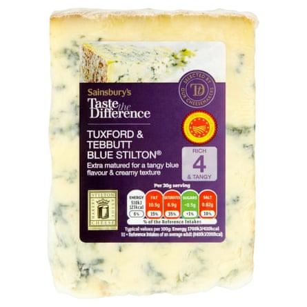 Sainsbury's Stilton Cheese, Taste the Difference 210g