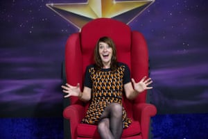 'It is everything you'd want' … Zoe Williams takes a seat in the red chair.