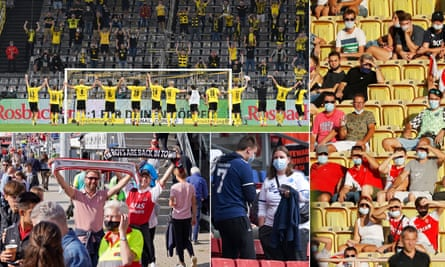Fans of Borussia Dortmund, Monaco, FC Copenhagen and AZ Alkmaar have all been able to watch their teams over the past week.