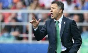 Juan Carlos Osorio's Mexico open their World Cup campaign against world champions Germany
