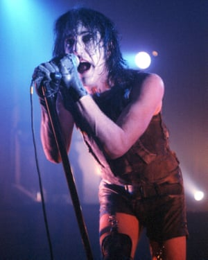 Nine Inch Nails' Trent Reznor.