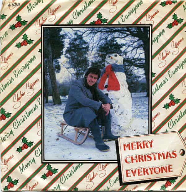 Single cover of Shakin' Stevens single Merry Christmas Everyone