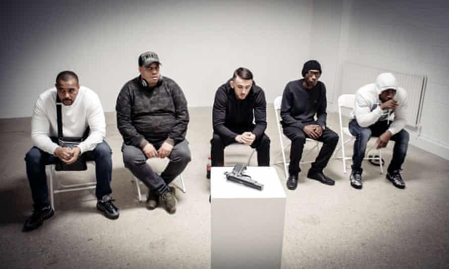 Dean Laycock, Darryl Laycock, Samzy Geldard, Leroy Smith and David Sieni in Gun No 6