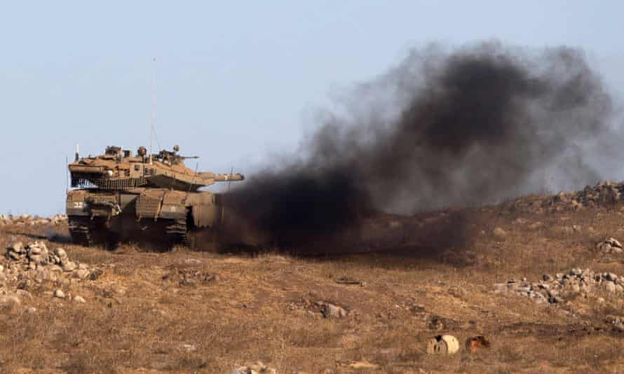 Israeli armed forces took part in the largest military drill in 20 years even as reports emerged that a Syrian chemical weapons facility had been attacked.