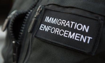 Immigration enforcement uniform