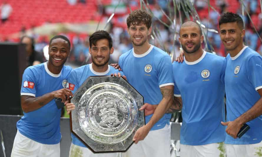Manchester City's kit for the Community Shield was refreshingly simple but we probably won't see it again.