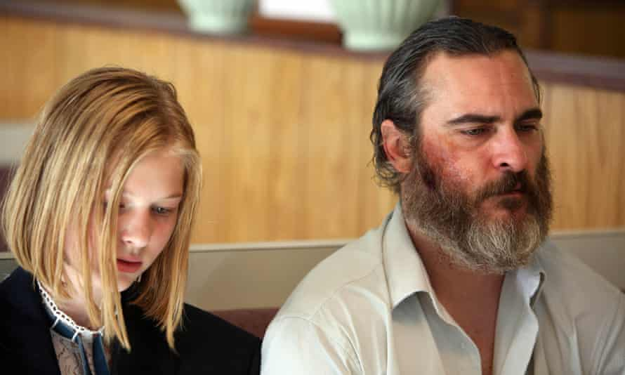 'A ghost in his own life': Joaquin Phoenix with Ekaterina Samsonov in You Were Never Really Here.