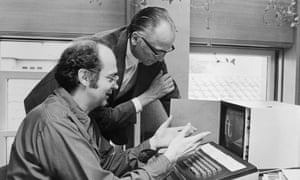 Donald Knuth (left), who tackled algorithms in the 60s in The Art of Computer Programming.