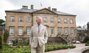 Prince Charles … modest tastes.