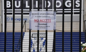 Canterbury Bankstown Bulldogs under lockdown