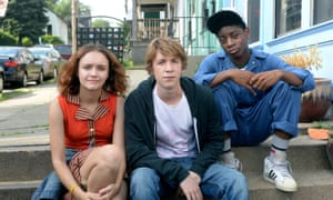 Olivia Cooke, Thomas Mann and RJ Cycler in Me and Earl and the Dying Girl.