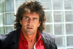 Gibson in Lethal Weapon in 1987.