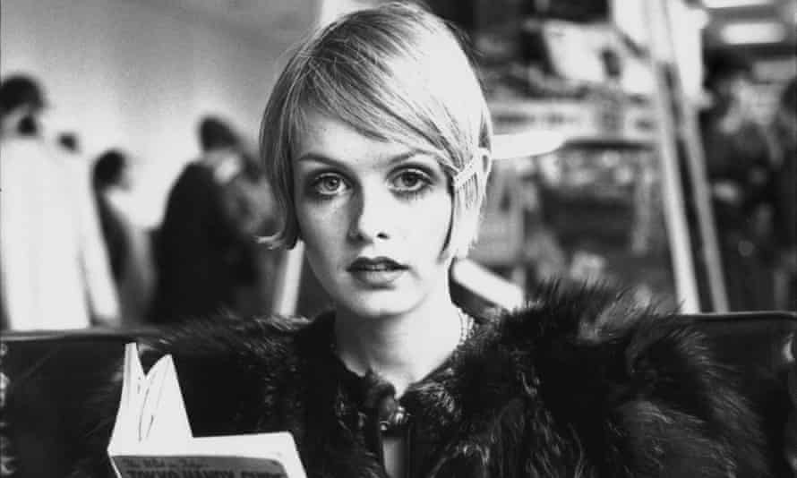 Twiggy in October 1967. She attributes her success more to her 'funny and kooky' personality than her looks.