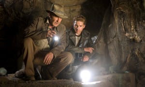 Harrison Ford with Shia LeBeouf (right) in Steven Spielberg's Indiana Jones and the Kingdom of the Crystal Skull