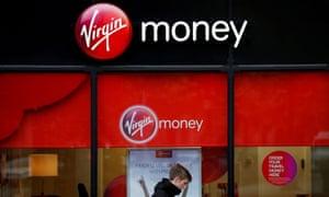 A branch of Virgin Money in Manchester, UK