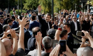 French President Emmanuel Macron declared Greece's prolonged crisis was over in his Athens speech.