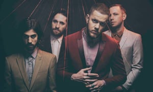 Channelling on-trend electronic vibes … Imagine Dragons.