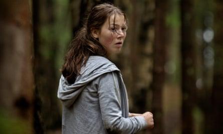 Andrea Berntzen as the fictional lead character, Kaja, in Erik Poppe's U – July 22.