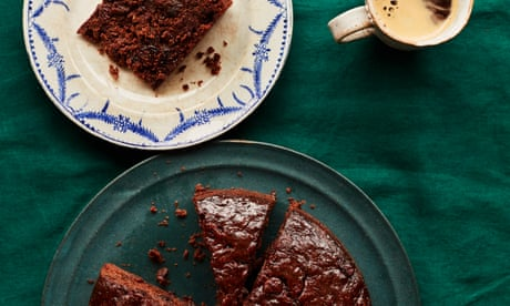 Benjamina Ebuehi's recipe for date and chocolate Christmas cake