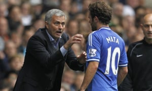 Jose Mourinho and Juan Mata at Chelsea. 'So many people suspected personal problems between us but there was nothing like this'.