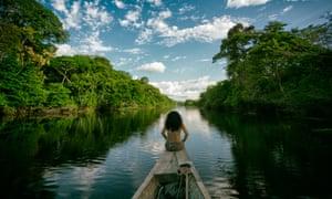 The Amazon river in Peru.
