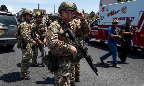 El Paso shooting at Walmart leaves 21 people dead | US news