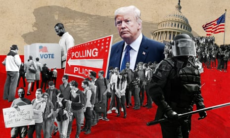 Democracy in the United States is in peril.