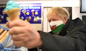 Boris Johnson campaigns in Vale of Glamorgan ahead of Thursday's elections.