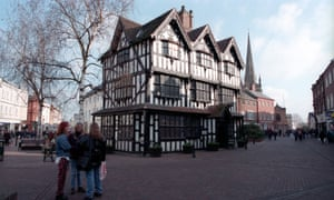 Hereford town centre