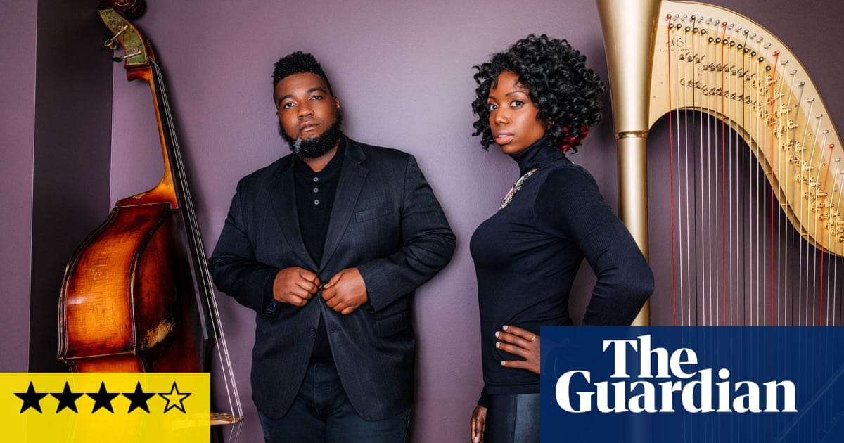 Brandee Younger and Dezron Douglas: Force Majeure review | John Lewiss contemporary album of the month