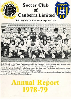 Soccer Club of Canberra Limited annual report 1978-79