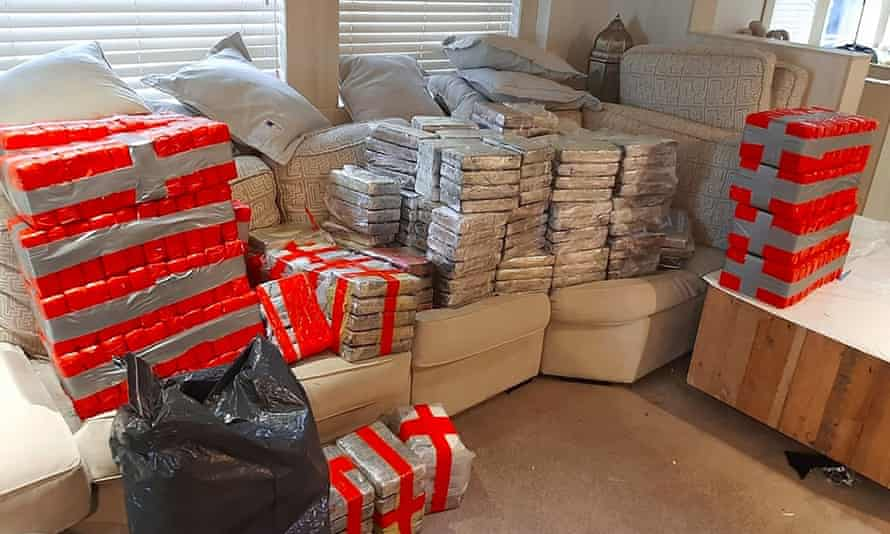 Blocks of cocaine found onboard the luxury yacht Kahu