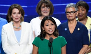 Stephanie Murphy speaks at the Democratic National Convention in Philadelphia on 26 July 2016.