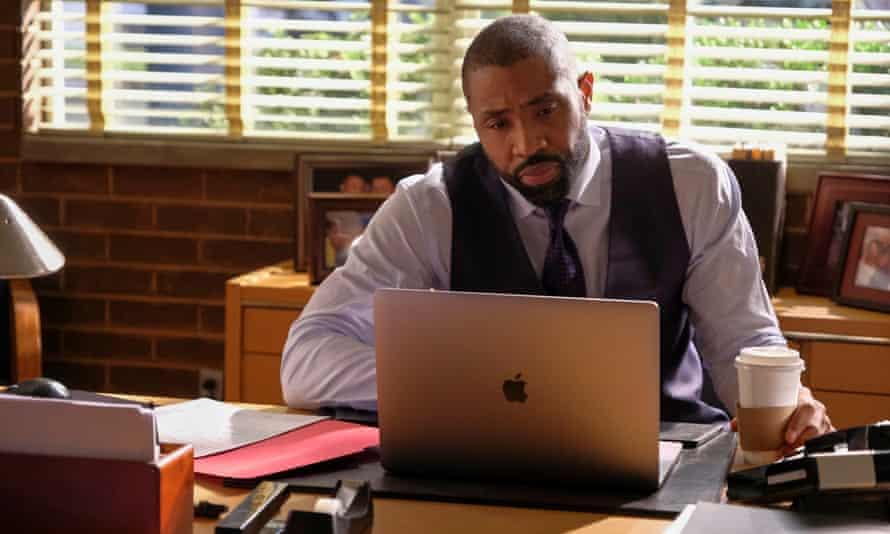 Return to the fray … Cress Williams in Black Lightning, Netflix